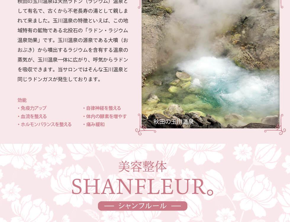 シャンフルールラジウム温泉効果2